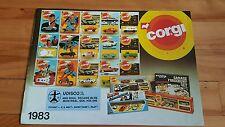 Corgi catalog 1983