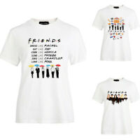 Friends T-Shirt TV Show Inspired Women Fashion Tee Tops Tumblr T shirts USA