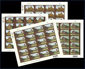 Thailand Stamp 2009 Thai Heritage Conservation (Stone Castles in Thailand) FS