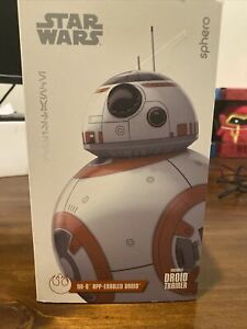 EXCLUSIVE BB-8 SPHERO STAR WARS APP-ENABLED DROID, DROID TRAINER - BRAND NEW