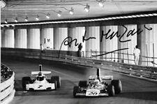 Arturo Merzario firmato F1 Williams FW03, MONACO GRAND PRIX 1974