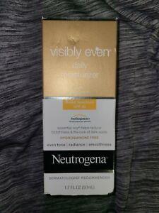 Neutrogena Visibly Even Daily Moisturizer Broad Spectrum SPF 30