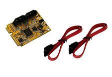 EXSYS ex-48080 - Mini PCI-EXPRESS SATA 3 (6gb/s) per HDD e SSD (Marvell)