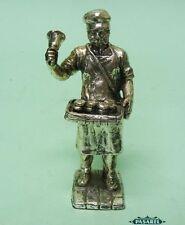 Vintage Silver Plated Cupcake Seller Miniature Figural Figurine