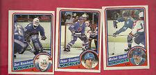 1984-85 TOPPS QUEBEC NORDIQUES  CARD LOT