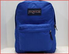 """Jansport SUPERBREAK 17"""" LARGE Backpack - 1550 cu 25 L Bag - Solid BLUE 🌟New🌟"""