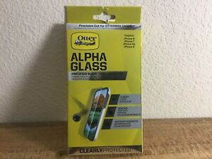 OtterBox ALPHA GLASS Series Screen Protector for (iPhone 8 Plus/7 Plus/6s Plus)
