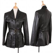 Jean-Paul GAULTIER FEMME Sheepskin jacket Size 40(K-46856)