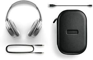 Bose QuietComfort 35 QC35 Series II Wireless Noise-Cancelling Headphones Silver