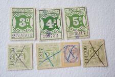 More details for midland railway newspaper parcel letter stamp x6 ref 5