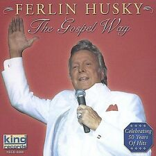 "FERLIN HUSKY, CD ""THE GOSPEL WAY"" NEW SEALED"