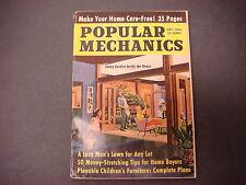Popular Mechanics Magazine,September 1962,Sunny Garden Inside,Lazy Man's Lawn