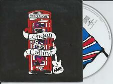 KANE - London calling CD SINGLE 2TR CARDSLEEVE 2008 HOLLAND RARE!