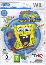 """"""" uDraw SpongeBob Schwammkopf: Verflixt und zugemalt  """" (Wii)"""