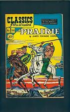 Classics Illustrated 58 HRN 60 (STRICT VG-) Pretty NICE! The PRAIRIE (id# 7085)