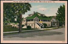 PASS-A-GRILLE BEACH FL Pelican Lodge Hotel Vtg Postcard