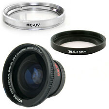 Bower 30.5mm 0.38x Wide Fisheye Lens,UV Filter for JVC EVERIO GZ-MG21 GZ-MG21U