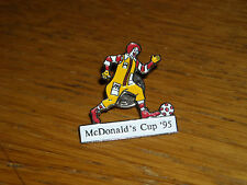 PIN DISTINTIVO SPILLA MCDONALDS CUP 95 CALCIO FOOTBALL SOCCER