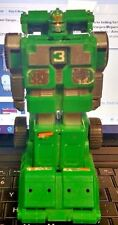 Power Rangers Turbo Deluxe Double Morphing Rescue Megazord Green 3 Vehicle  1997