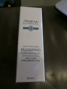 SEALED AVON ANEW CLINICAL ANTI WRINKLE PLUMPING CONCENTRATE 30ML