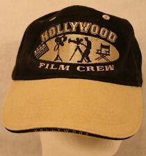 Hollywood film crew Black Tan Embroidered Men Women cap hat Strapback adjustable