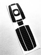 NERO Carbonio Chiave Decoro Adesivo BMW e60 e61 e81 e87 e90 e92 e70 ecc.