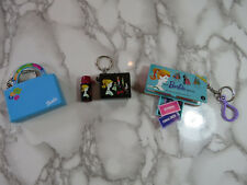 LOT of 3 Basic Fun Barbie Rare Vintage Key Chains from 1999