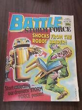 BATTLE WITH STORMFORCE JUNE 20 1987 BRITISH WEEKLY COMIC^