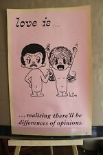 Love is..  vintage original poster