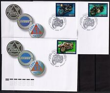 2019.Russia. History of motorcycle. FDCs