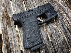 Caloosa Gun Grips for GLOCK 43X & 48X Rubber Grip Tape Non Slip+ Back-strap