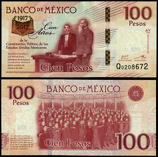 Messico 100 PESOS (P130) 2017 emissione commemorativa SERIE AY UNC