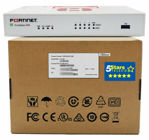 Fortinet FortiGate 30E Secure SD-WAN/Firewall Appliance (FG-30E) Brand New