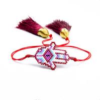 Evil Eye Bracelet MIYUKI Bracelet Hamsa  Beads Handmade  Women Gift