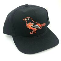 Vintage Baltimore Orioles Outdoor Cap Co Youth Size Snapback Hat Black Orange