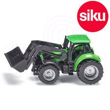 Siku 1043 Deutz-Fahr Tractor c/w Front Loader Green + Black Scale Model Toy