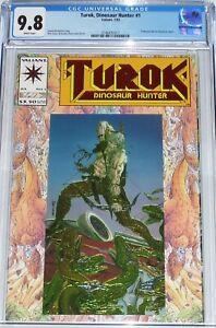 Turok, Dinosaur Hunter #1 CGC 9.8 from July 1993 Embossed foil & Chromium cover