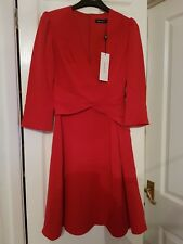 Karen Millen Red Dress Size 6