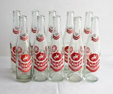 Set of 10 washed, clean, Rodeo Soda bottles 10 oz , in very good condition