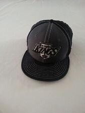New Era 59Fifty LOS ANGELES KINGS Cap Hat gray BLACK snapback HOCKEY NHL