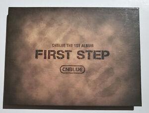CNBLUE 1st Album First Step Korea Press CD - No photocard Kpop