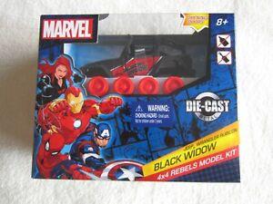 2020 Walgreens Marvel Black Widow Jeep Wrangler Rubicon 4X4 Rebels Model Kit NIP