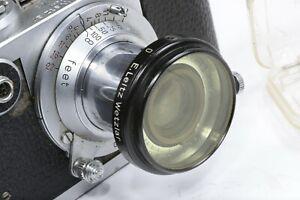 Leica Leitz YELLOW 0 FILTER A36 FIHEL for Elmar, Hektor, Summar, Summaron