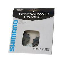 Shimano Tourney 6, 7, 8 Speed Jockey Wheels 10T Derailleur Gear Mech Pulley Set