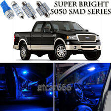 7pcs Blue LED Interior Lights Bulb Package Kit For Ford F150 2004-2008