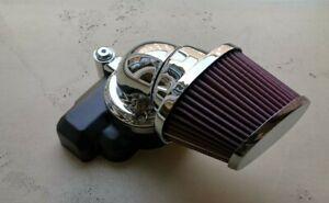 Harley Davidson Screamin Eagle Heavy Breather Perf. Luftfilter Chrom 29400263