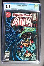 DETECTIVE COMICS #536 Batman vs DEADSHOT Dr Fang 1984 Green Arrow COLAN CGC 9.6