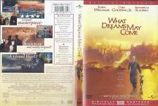 Dvd: What Dreams May Come.Robin Williams-Cuba Gooding Jr.-Anabella Sciorra