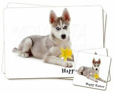 Husky+Daffodil 'Happy Easter' Twin 2x Placemats+2x Coasters Set in , AD-H54DA1PC