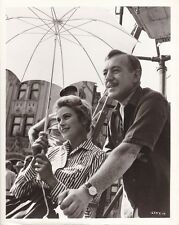 GRACE  KELLY ALEC GUINNESS Original CANDID on Set Vintage THE SWAN MGM DBW Photo